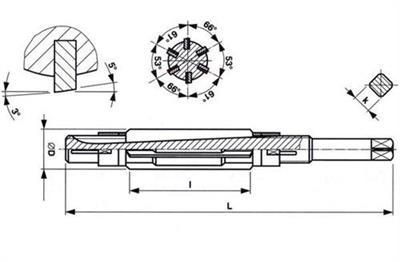 Stavitelný výstružník 49,50-55,00 T20 261 201