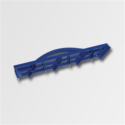 Škrabák aluminium 450x90mm