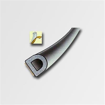Těsnění D-100m 9x7,4mm černá/PL STOMIL