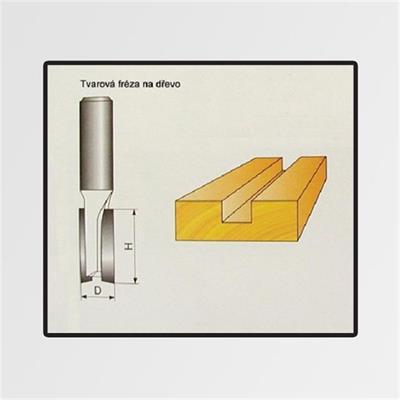 Tvarové frézy do dřeva 10x19mm