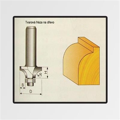 Tvarové frézy do dřeva 3,17x3,17x7mm