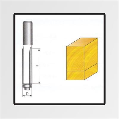 Tvarové frézy do dřeva 8x9x50mm