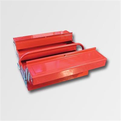 Kufr na nářadí kov. 404x200x150mm 5 přihrádek TB123