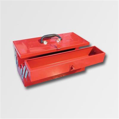 Kufr na nářadí kov. 466x210x232mm 5 přihrádek  TB122