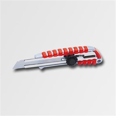 Nůž ulamovací pogumovaný 18mm kroužková aretace