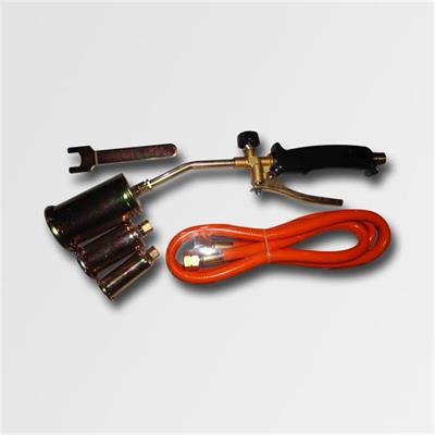 Opalovací plynová souprava 3 nástavce 19,5KW hadice 1,5m