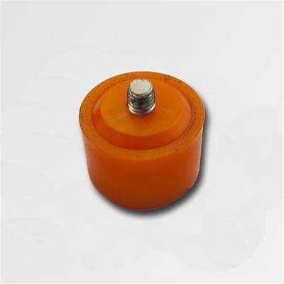 Plastová koncovka oranžová 40mm