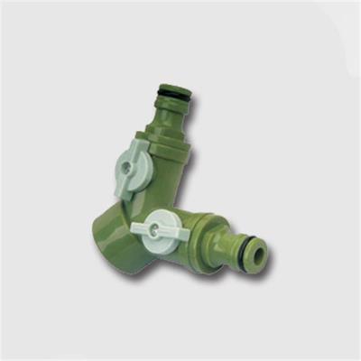 Rozdvojka s ventily pro 2 rychlospojky (45134)