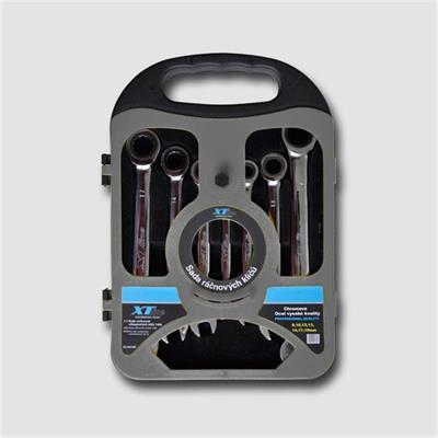 Sada ráčnových klíčů 8-19,72 zubů