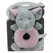 Tulilo Hračka +0m chrastítko slon růžový