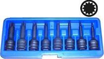 Sada kovaných prodloužených hlavic XZN Genborx JBTK 408-M