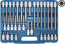 Sada zástrčných drážkových hlavic RIBE - Genborx JBTK 1032-RM