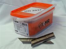 Hřebíky do hřebíkovačky s D hlavou D34 2,9 x 65mm 2000ks bez plynu, BEA-KMR