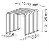 Spona čalounická typ K (10-22mm) pro KMR 3417