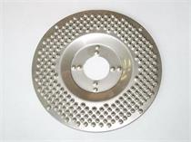 Rotační nerezová rašple SCRAPER pro úhlovou brusku 125
