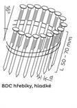 BDC hřebíky páskované ve svitku 16° hladké (50-70mm) pro KMR 3515