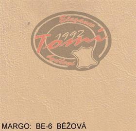 Koženka Margo BE-5 béžová