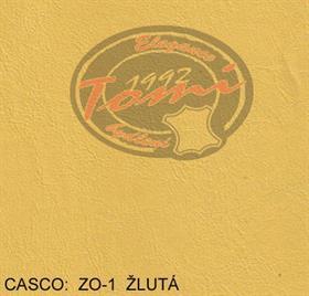 Koženka CASCO ZO-1 žlutá