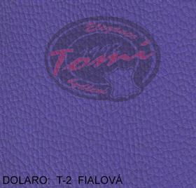 Koženka DOLARO T-2 fialová