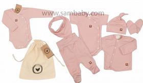 Zyzio&Zuzia komplet 8D bavlna růžový