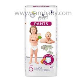 BELLA HAPPY Pants Junior dětské plenkové kalhotky (11-18 kg) 40 ks