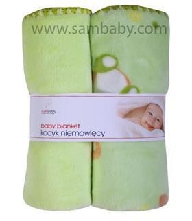 Duet Baby Dětská deka 875 zelená