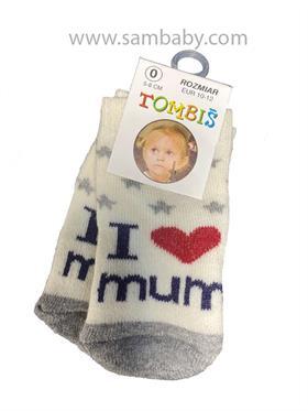 Tombis Dětské ponožky froté 9