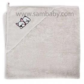 Ceba Baby Koupelnová osuška s kapuckou pejsek