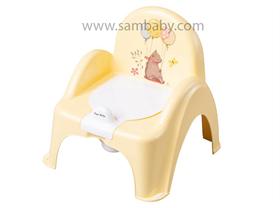 Tega Baby Nočník křesílko s protiskluzovou ochranou - žlutý