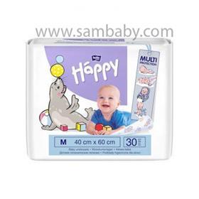 BELLA HAPPY Dětské hygienické podložky 40x60 cm 30 ks
