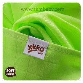 XKKO Bambusová plena/osuška ®BMB Colours 90x100 cm - Lime