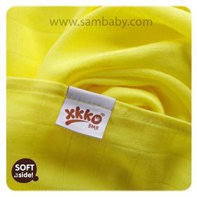 XKKO Bambusová plena/osuška ®BMB Colours 90x100cm - Lemon