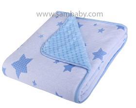 Duet Baby Dětská deka do kočárku 684 modrá
