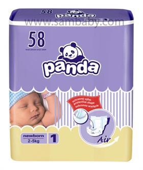 Bella Panda jednorázové pleny NEWBORN (2-5kg) 58ks
