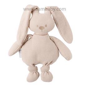 NATTOU Hračka plyšová zajíček Lapidou cuddly beige 36 cm
