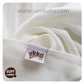 XKKO Bambusová plena/osuška ®BMB 90x100cm - Natural