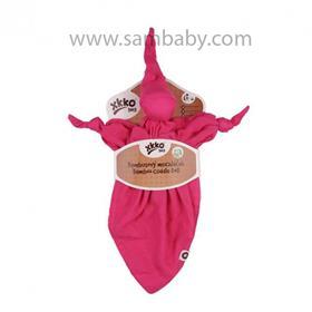 XKKO Bambusový muchláček XKKO BMB - růžový