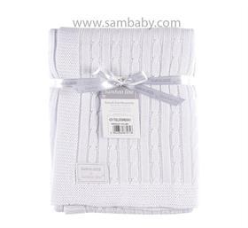 Eevi bambusová deka bílá