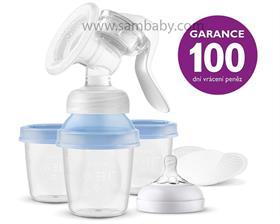 Philips AVENT Odsávačka mateřského mléka manuální s VIA systémem