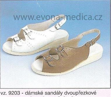Dámské sandály dvoupřeskové