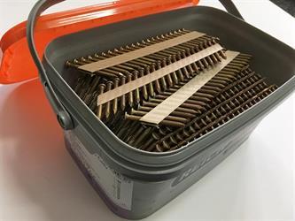 Hřebíky ANKER 4,0x50mm D34 BK 1250ks  Bea, KMR pro tesařské kování