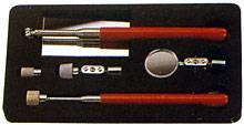 Sada inspekčních zrcátek a magnetických nástrojů
