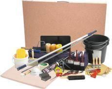 Souprava malířských a tapetářských potřeb 64 ks, KENNEDY