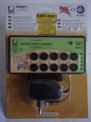 Odháněč hlodavců OdH1-max s adaptérem