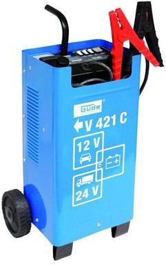 Autonabíječka baterií/ startovací vozík V 421, GÜDE