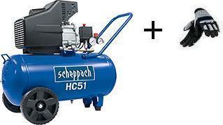 Kompresor olejový HC 51 SCHEPPACH + rukavice ZDARMA