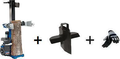 Štípač na dřevo 15t, HL 1500 VARIO, SCHEPPACH + přídavný 4-ramenný klín + dárek RUKAVICE ZDARMA