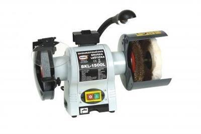 Dvoukotoučová bruska, leštička MBKL-1500L