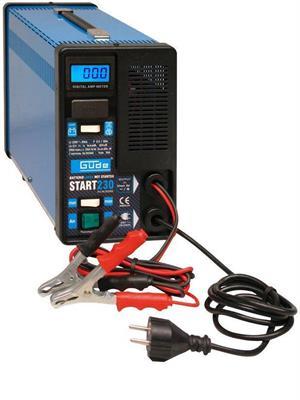 Nabíječka baterií START 230, 12V, Güde