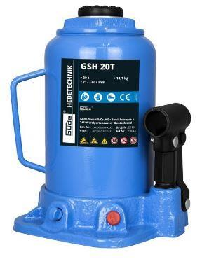 Hydraulický zvedák GSH 20T, Güde - panenka